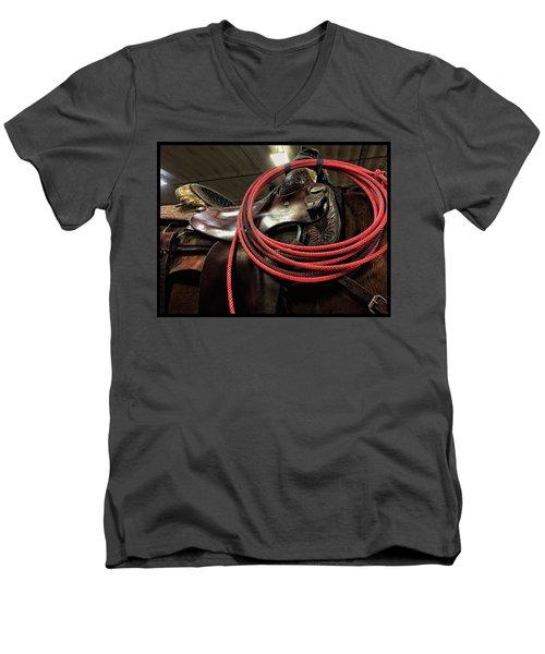 Lariat Men's V-Neck T-Shirt