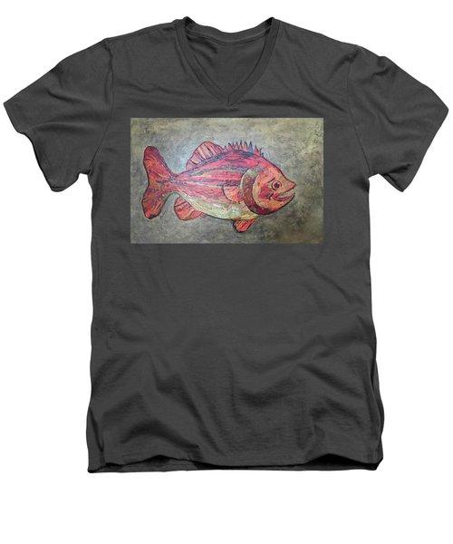 Larry Loud Mouth Men's V-Neck T-Shirt