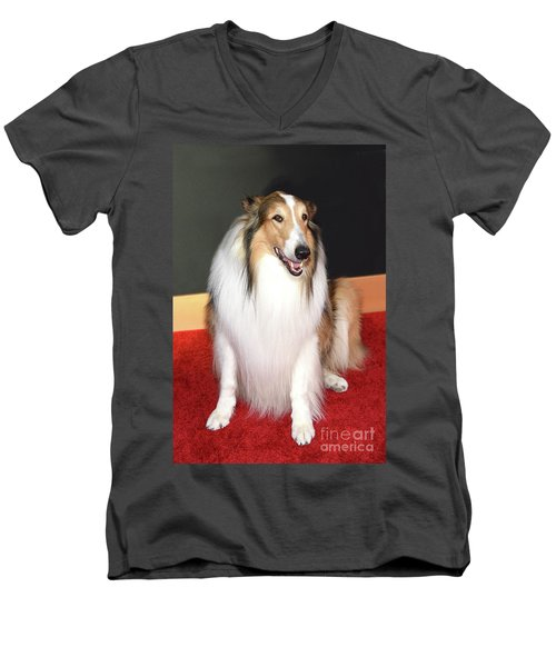 Lassie Men's V-Neck T-Shirt