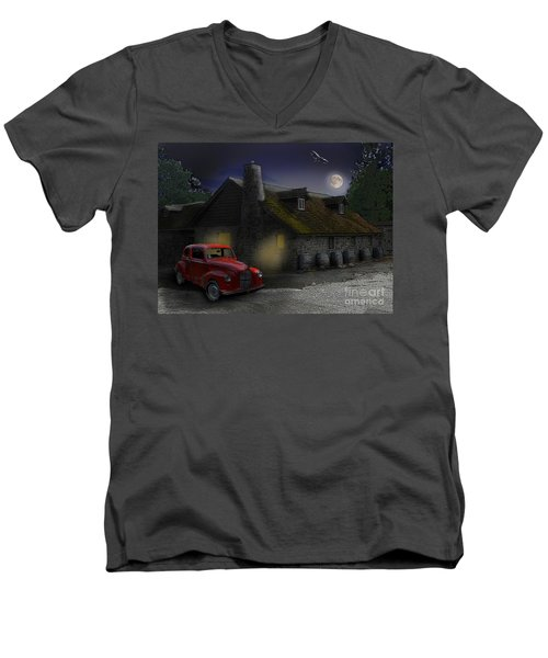 Last Call Men's V-Neck T-Shirt