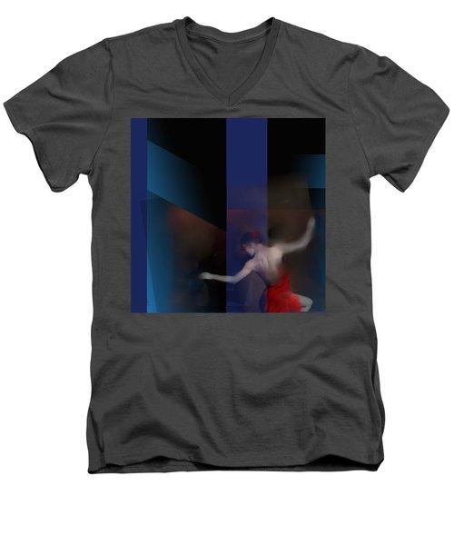 Last Flamenco Men's V-Neck T-Shirt