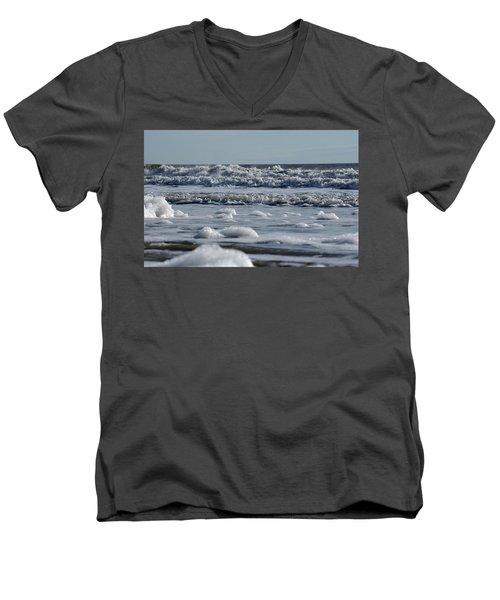 Last Look Of The Season Men's V-Neck T-Shirt by Greg Graham