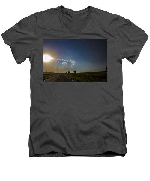Last Nebraska Supercell Of The Summer 009 Men's V-Neck T-Shirt