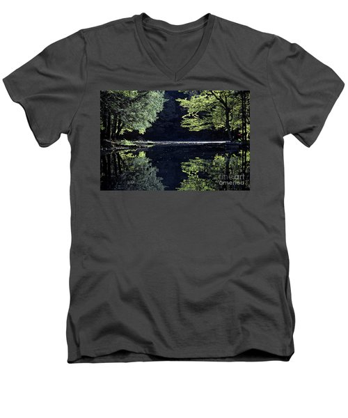 Late Afternoon Reflection Men's V-Neck T-Shirt