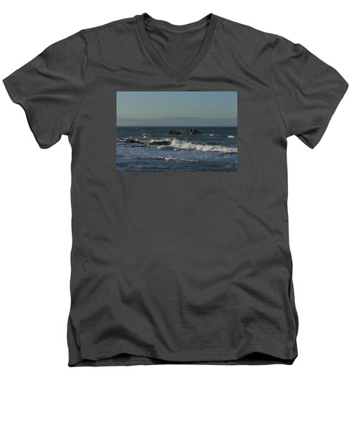 Late Afternoon Waves Men's V-Neck T-Shirt