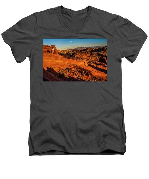 Late Light Men's V-Neck T-Shirt