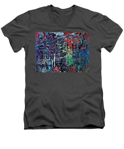 Late Night Reflections Men's V-Neck T-Shirt