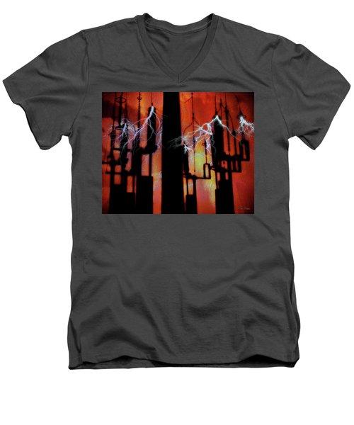 Latent Voltage Men's V-Neck T-Shirt