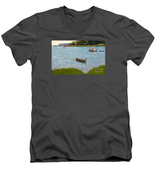 Later Afternoon Sun Men's V-Neck T-Shirt