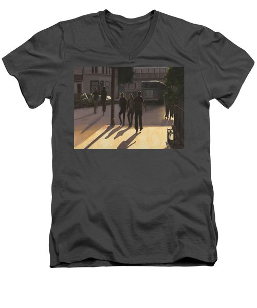 Latin Quarter Men's V-Neck T-Shirt