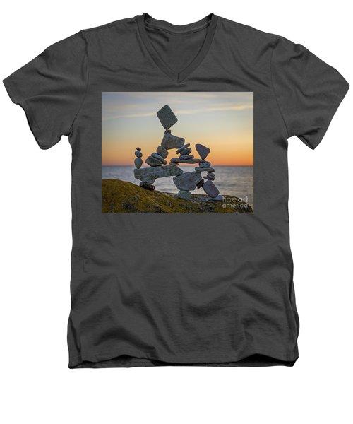 Lattjo Lajban Men's V-Neck T-Shirt