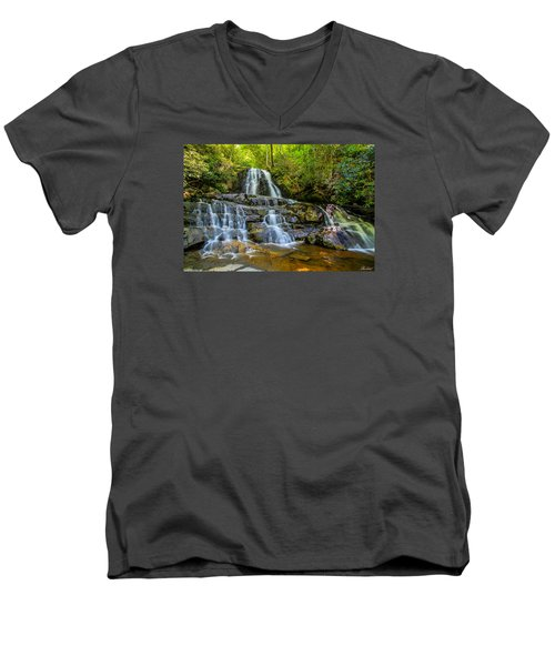 Laurel Falls Men's V-Neck T-Shirt