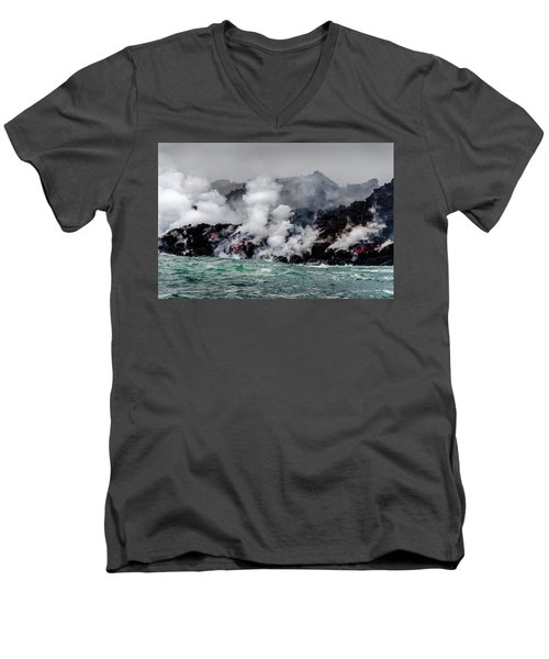 Lava Shelf Men's V-Neck T-Shirt