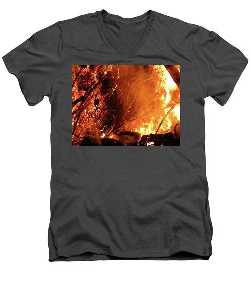 Layers Below Men's V-Neck T-Shirt