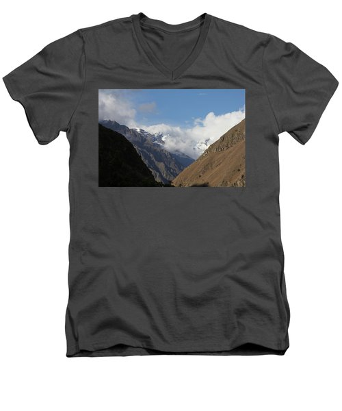 Layers Of Mountains Men's V-Neck T-Shirt