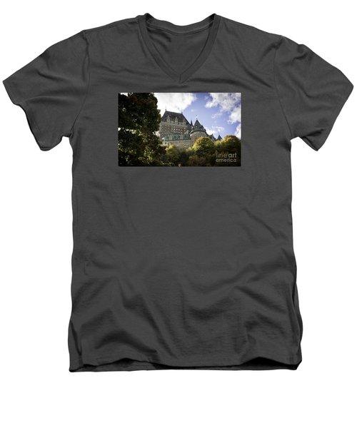 Le Chateau #2 Men's V-Neck T-Shirt