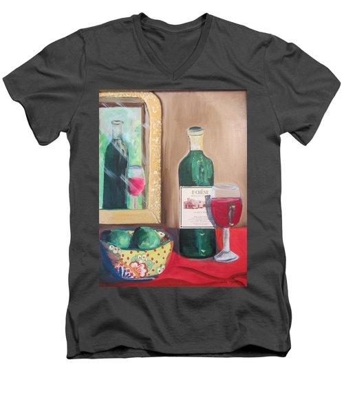 Le Chene Still Life Men's V-Neck T-Shirt