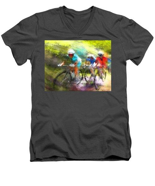 Le Tour De France 11 Men's V-Neck T-Shirt