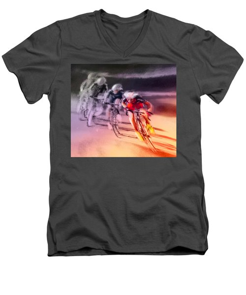 Le Tour De France 13 Men's V-Neck T-Shirt