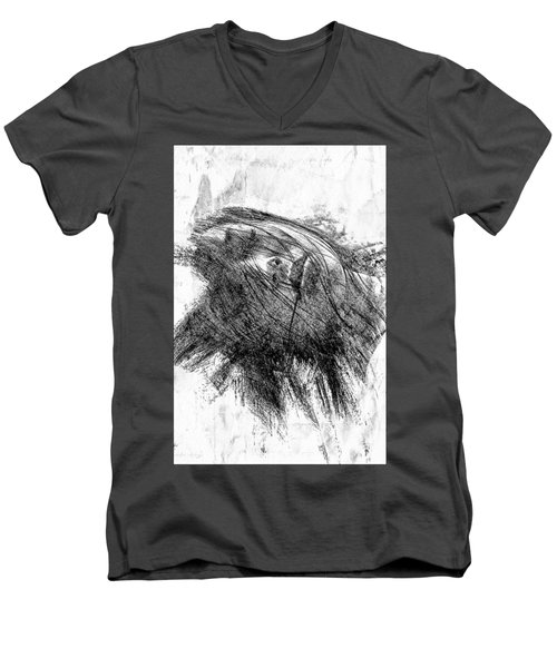 Leaden Slumber Men's V-Neck T-Shirt