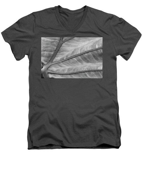Leaf Abstraction Men's V-Neck T-Shirt