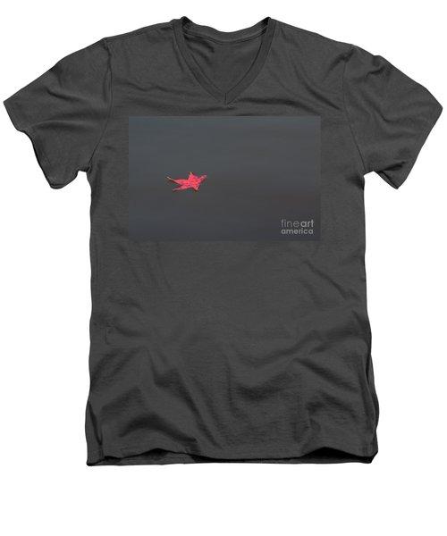 Leaf Alone Men's V-Neck T-Shirt