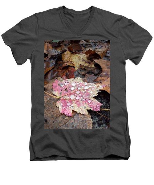 Leaf Bling Men's V-Neck T-Shirt