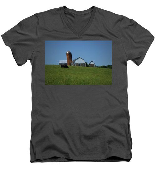 Men's V-Neck T-Shirt featuring the photograph Lean Beef by Robert Geary