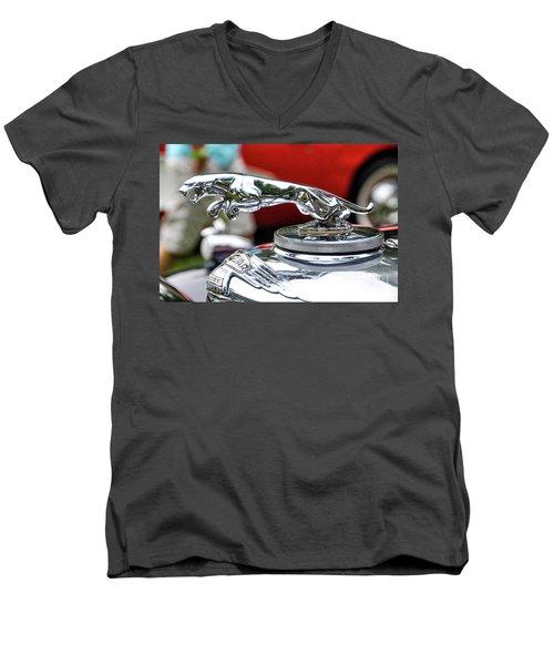 Leaper Men's V-Neck T-Shirt