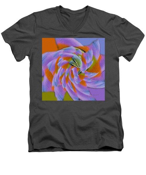Learning To Fly Men's V-Neck T-Shirt by Robert J Sadler