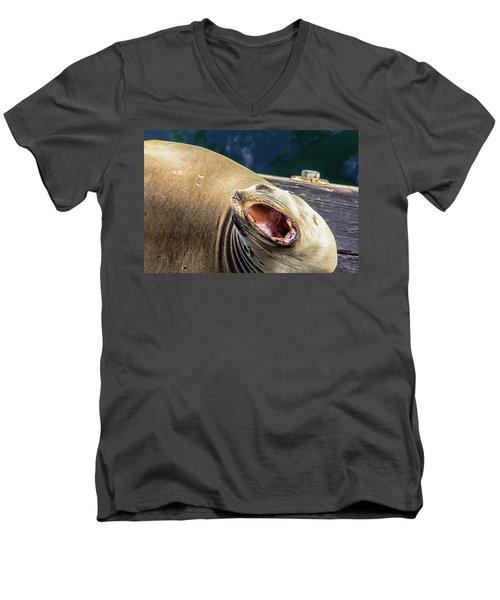 Leave Me Alone Men's V-Neck T-Shirt
