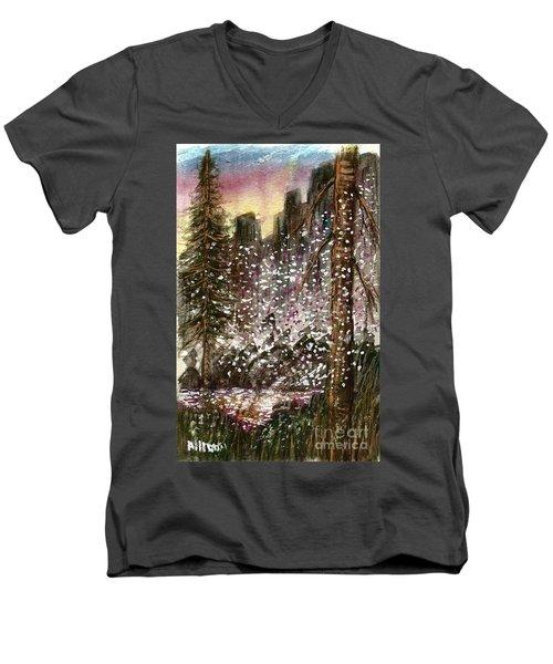 Leaves Of Change  Men's V-Neck T-Shirt
