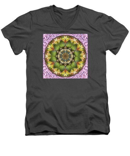 Leaves Of Glass Men's V-Neck T-Shirt