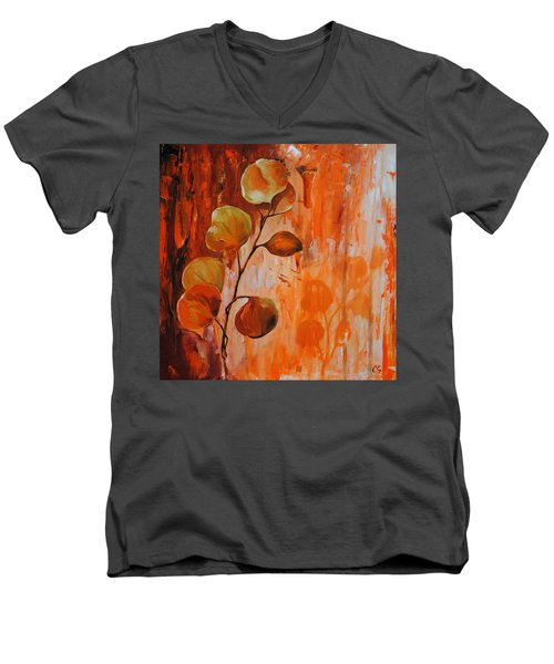 Leaves1 Men's V-Neck T-Shirt