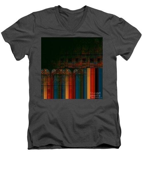 Leaving Darkness Men's V-Neck T-Shirt
