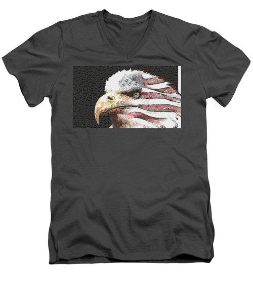 Legally Unlimited Eagle Men's V-Neck T-Shirt