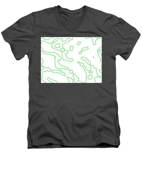 Lemario Men's V-Neck T-Shirt
