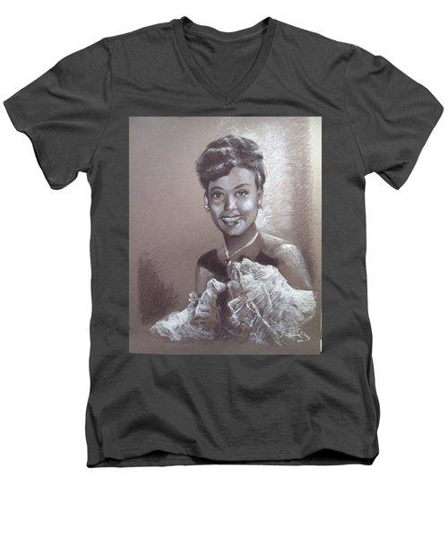 Lena Horne Men's V-Neck T-Shirt