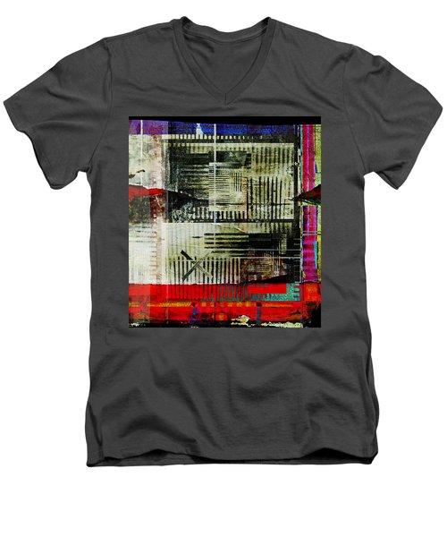 Les Lieux, Les Noms, Tous Les Indices Men's V-Neck T-Shirt by Danica Radman