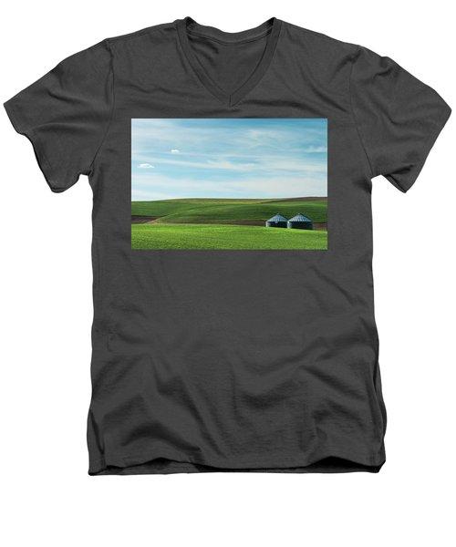 Less Is More. Men's V-Neck T-Shirt