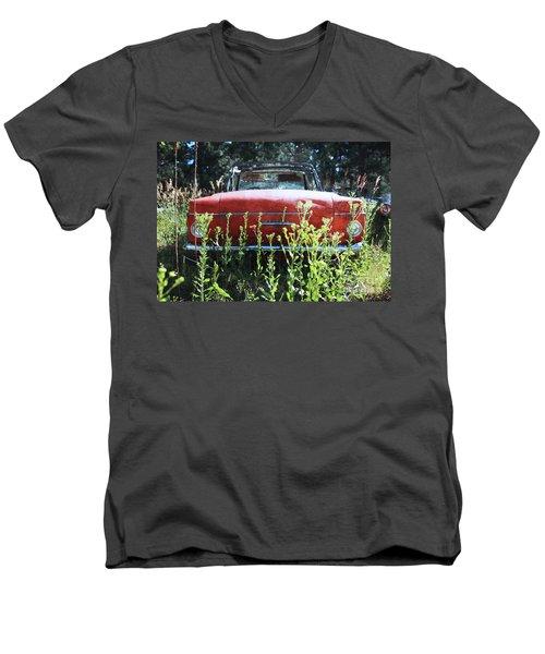 Less Rambling Men's V-Neck T-Shirt