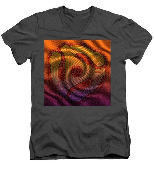 Let The Music Play Men's V-Neck T-Shirt
