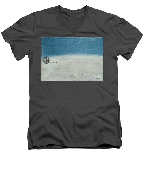 Let There Be Peace Men's V-Neck T-Shirt