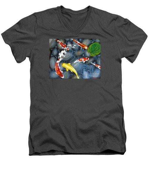 Let's Go Swimming Men's V-Neck T-Shirt