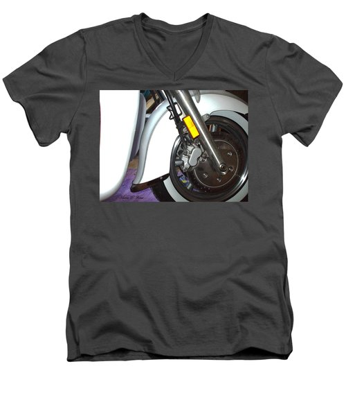 Men's V-Neck T-Shirt featuring the photograph Lets Roll by Shana Rowe Jackson