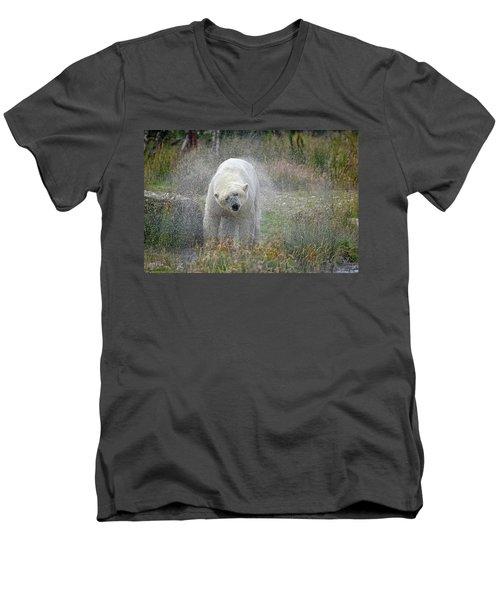 Lets Twist Again Men's V-Neck T-Shirt