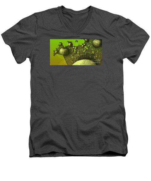 Lettuce Have Escargot Men's V-Neck T-Shirt