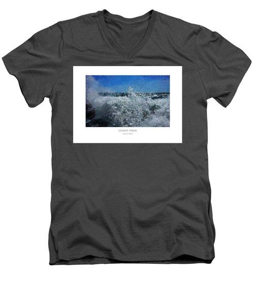 Levant Spray Men's V-Neck T-Shirt