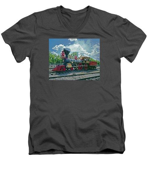 Leviathan Men's V-Neck T-Shirt
