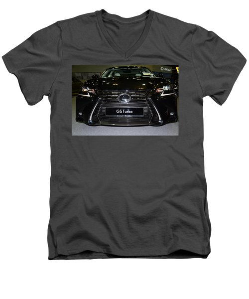 Lexus Gs Turbo Men's V-Neck T-Shirt